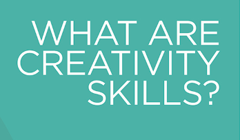 Text graphic for What are creativity skills