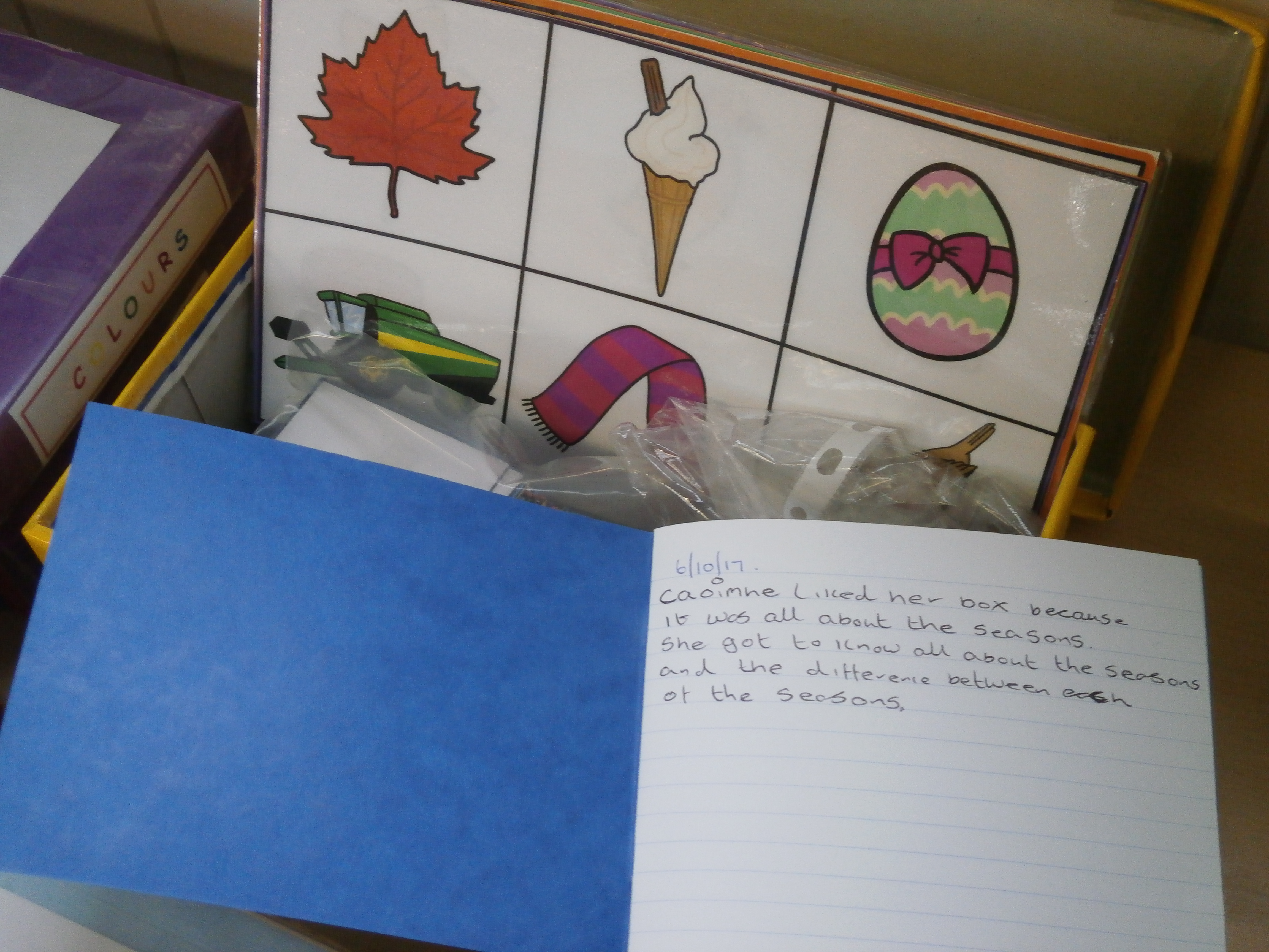 science box example