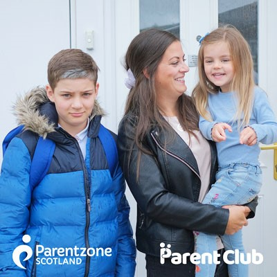 Photo promoting Parent Club
