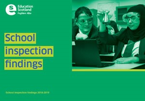 Cover of School Inspection Findings - Briefing